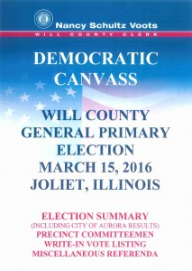 20160315 Democrat Canvass Book